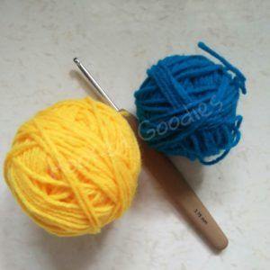 Crochet Basic Granny Square-supplies