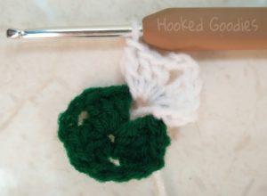 Crochet Granny Triangle-Start of Round 2