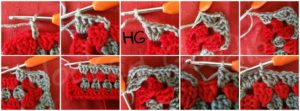 how to crochet granny rectangle (Round 3)