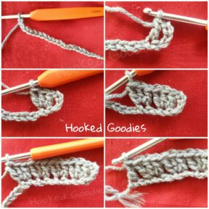 how to crochet granny rectangle (Round 1)