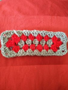how to crochet granny rectangle