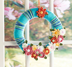 Free Crochet Patterns for Spring Wreaths