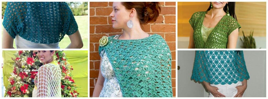 Crochet Shrug Free Patterns-Beautiful Shrugs