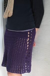 Crpchet Skirts Free Patterns-Flirty Marvel Skirt