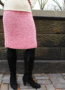 Crochet Skirts Free Pattern-Modern Mekissa Skirt