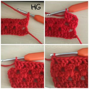 How to Crochet Granny Stripes-Round 4