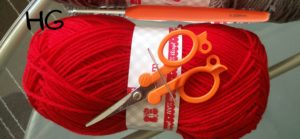 How to Crochet Granny Stripes- things required