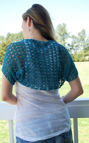5 Beautiful Crochet Spring Shrug Free Patterns