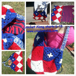 Bag-crochet patterns for 4th July
