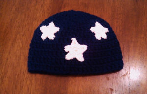 Beanies1-crochet patterns for 4th July