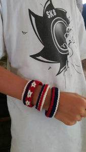 Bracelet & Cuff2-crochet patterns for 4th July