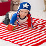 Hat n Blanket-crochet patterns for 4th July