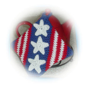 Potholder-crochet patterns for 4th July