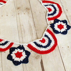 Star Spangled Banner-crochet patterns for 4th July