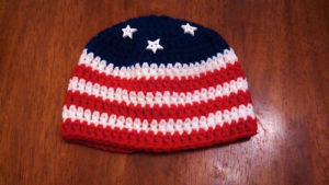 beanies2-crochet patterns for 4th July