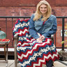 Stars and Stripes Throw-crochet patterns for 4th July