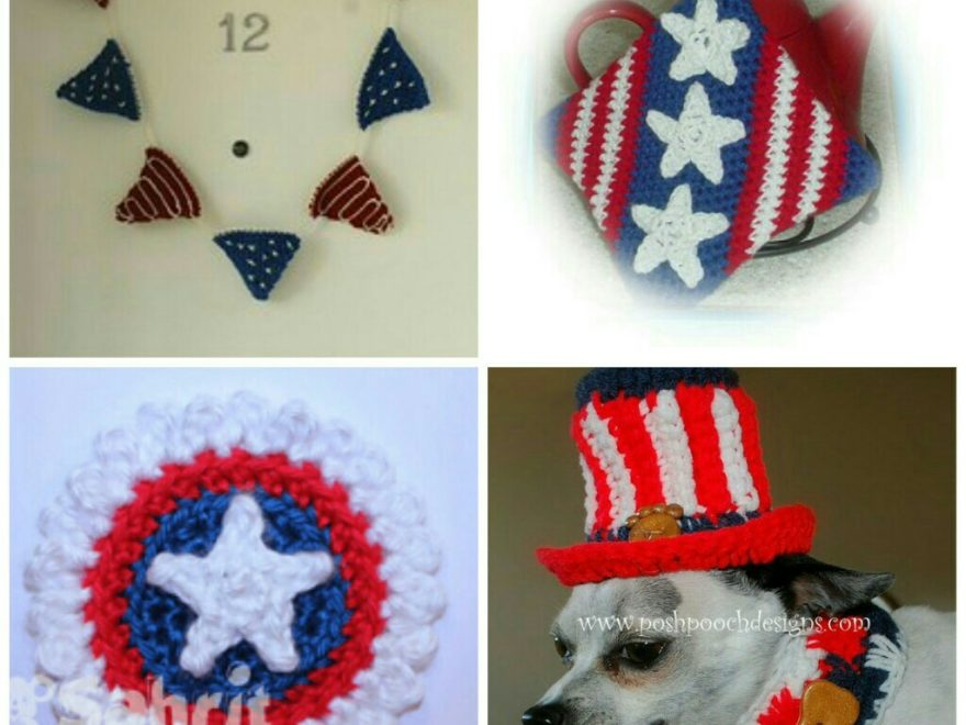 crochet patterns for 4th July-Featured Image