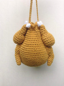 Thanksgiving Turkey Purse-Crochet Turkey Patterns