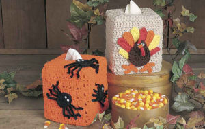 Turkey Tissue Cover-Crochet Turkey Patterns