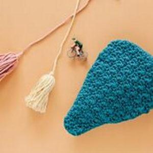 Creative Crochet Ideas-Bike Saddle Cover