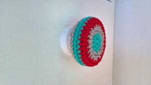 Creative Crochet Ideas-Crocheted door Knob Cover