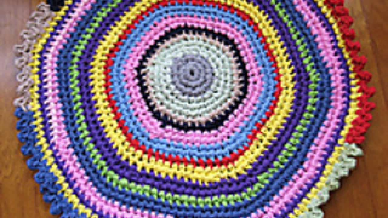 13 Free Crochet Patterns For T Shirt Yarn Rug You Would Love