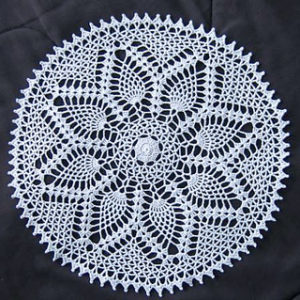 Pineapple Doily Pattern Free