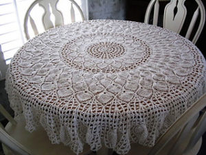 Pineapple Crochet Tablecloth Patterns