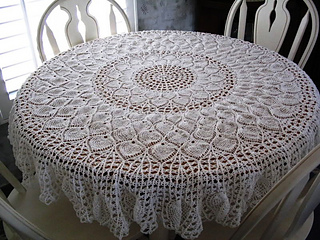 5 Free Pineapple Crochet Tablecloth Patterns You Should Save