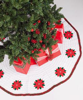 Christmas Tree Skirt Patterns Free.27 Free Crochet Christmas Tree Skirt Patterns
