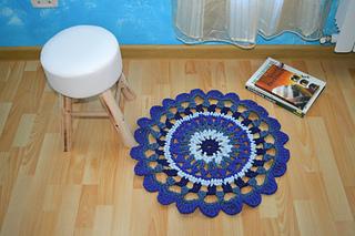 Crochet Rug T Shirt Yarn Rug