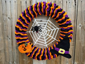 Free Crochet Patterns for Halloween Crochet Wreaths