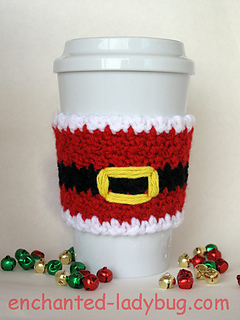 35 Free Easy Crochet Patterns For Christmas Themed Cup And Mug Cozy