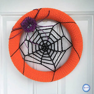Free Crochet Patterns for Halloween Crochet Wreaths