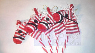 17 Free Crochet Patterns For Candy Cane Christmas Ornaments