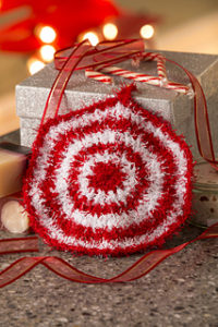 Crochet Peppermint Christmas Scruby