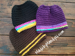 85 Free Crochet Patterns for Messy Bun Hat to Make Your Winter Colourful