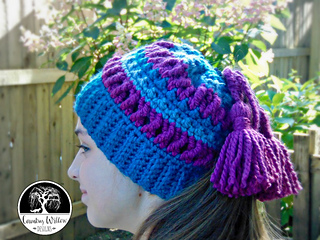 85 Free Crochet Patterns for Messy Bun Hat to Make Your