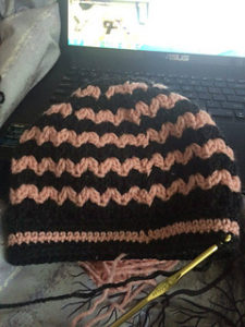 Messy Bun Beanie Free Crochet Patterns
