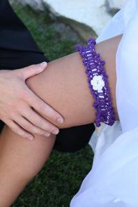 Free Easy Crochet Patterns for a Bridal Garter/ Wedding Garter