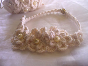 Free Crochet Patterns for a Wedding Necklace or Bridal Necklace