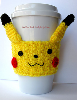 Free Crochet Patterns for Pokemon Mug Cozy & Cup Cozy