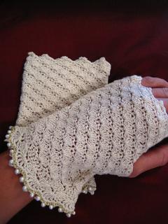 10 Free Crochet Patterns For Wedding Gloves Bridal Gloves
