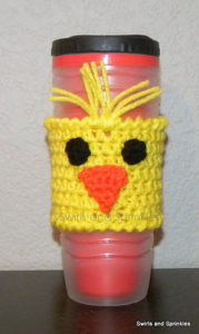 Free Crochet Patterns for Egg Easter Mug Cozy/ Cup Cozy/ Bottle Cozy