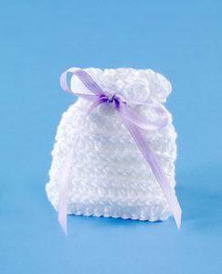 Free Crochet Patterns for Wedding Favor Bags & Wedding Favor Sachets