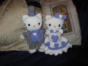 Bride and Groom Crochet Pattern, Crochet Wedding Pattern ... | 225x300
