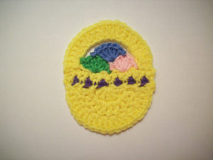 Free Crochet Patterns for Basket Easter Crochet Coasters