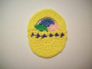 Free Crochet Patterns for Basket Easter Crochet Coasters