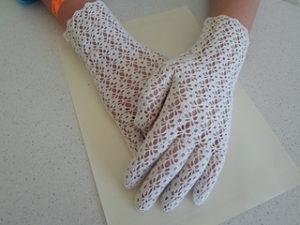 Free Crochet Patterns for Bridal Gloves or Wedding Gloves