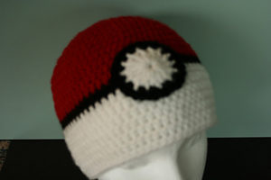 Crochet Pokemon Pokeball Headband Pattern | 200x300